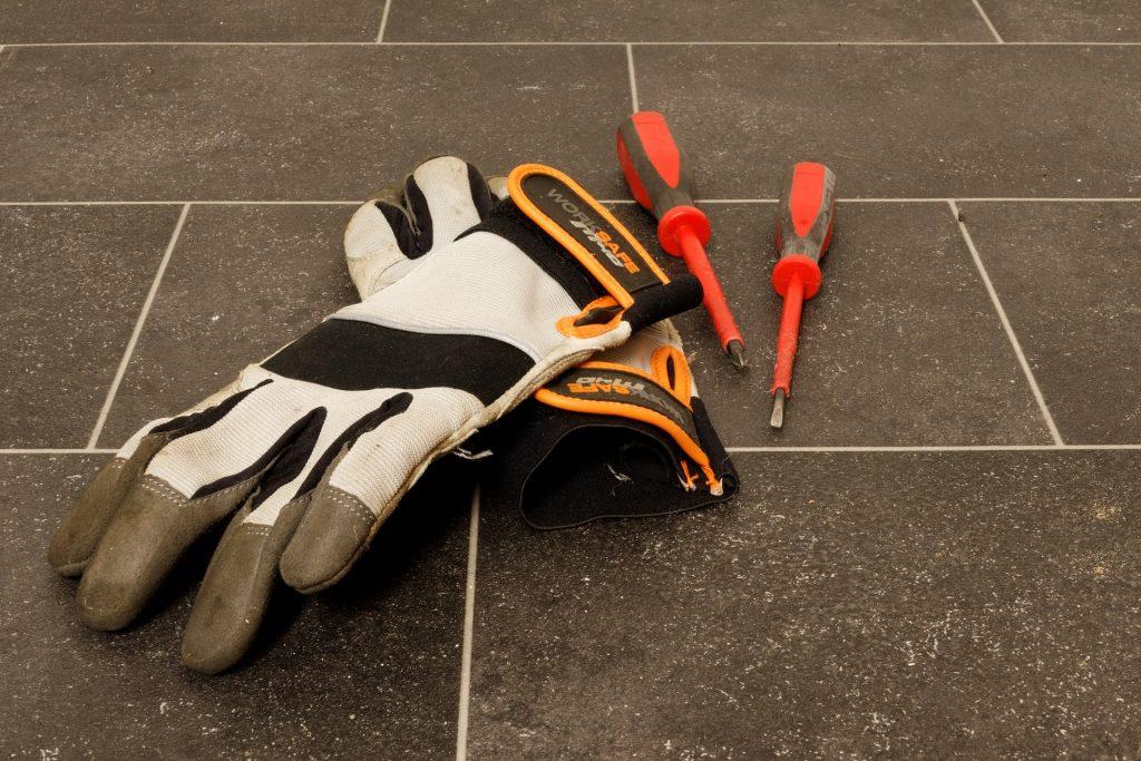 gants de contruction